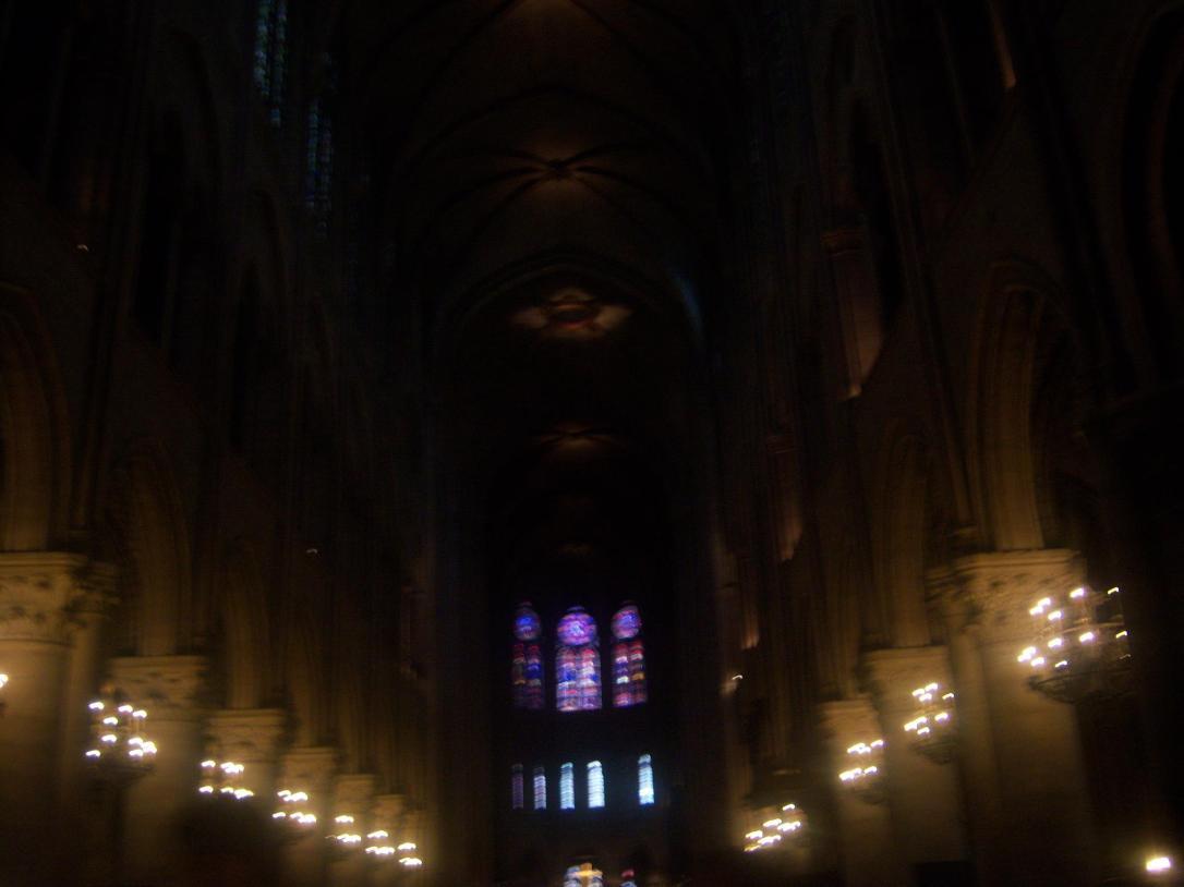 Notre Dame de Paris, interior. La necesidad de un templo