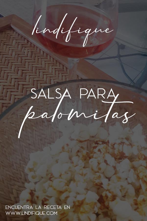 Palomitas gourmet con vino rosado para Netflix and chill Con paprika y aceite de oliva.