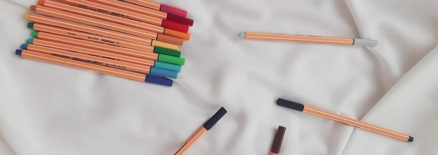 Mejores plumas rotuladoras para Journaling Stabilo Point 88